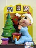 Beste Kerstman, I ` ve een zeer Goede Jongen stock afbeeldingen