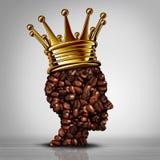 Beste Koffieconcept royalty-vrije illustratie