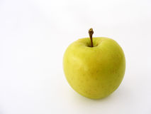 Beste Kopienraumgrün-Apfelbilder Stockbilder