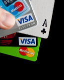 Beste Kreditkarte Lizenzfreies Stockfoto