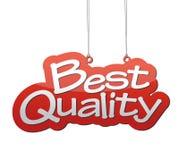 Beste kwaliteit als achtergrond Royalty-vrije Stock Foto