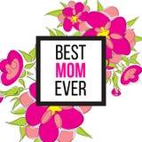 Beste Mamma ooit Stock Afbeeldingen