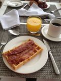 Beste ontbijt ooit stock afbeeldingen