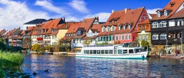 Beste Orte von Bayern, szenische Bamberg Stadt deutschland stockfotografie