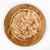 Beste Pizza Italiaans voedsel Royalty-vrije Stock Foto's
