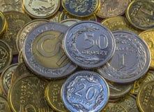 Beste Poolse munt Royalty-vrije Stock Fotografie