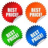 Beste prijs vector illustratie