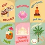 Beste Reis naar India Stock Afbeelding