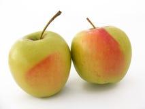 Beste rote grüne und gelbe Apfelbilder für gesundes Leben Lizenzfreie Stockbilder