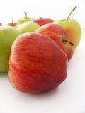 Beste rote grüne und gelbe Apfelbilder für gesundes Leben Lizenzfreie Stockfotografie