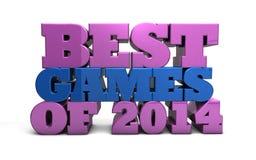 Beste Spiele von 2014 Stockfotos