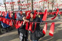 Beste Wünsche für Chinesisches Neujahrsfest Stockbild