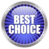 Beste Wahl Stockbild