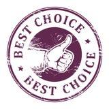 Beste Wahl Lizenzfreies Stockbild