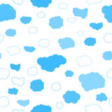 Beste wolken naadloos patroon Stock Foto's