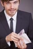 Bestechungsgeld Lizenzfreie Stockfotos