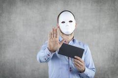 Bestechungsgeld ist kein legales Lizenzfreie Stockfotos