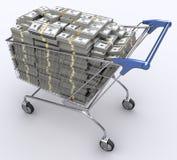 Besteed Economie Royalty-vrije Stock Afbeeldingen