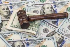 Besteedt aan wettelijke kwesties Stock Fotografie