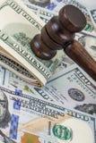 Besteedt aan wettelijke kwesties Stock Foto