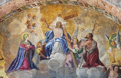 Besteigung des Jesus Christus Lizenzfreie Stockbilder
