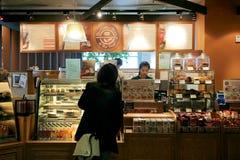 Bestellenkaffee Lizenzfreie Stockbilder