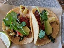 Bestellung von Tacos lizenzfreies stockbild