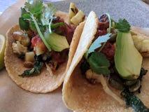 Bestellung von Tacos Stockfoto