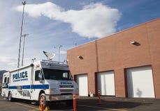 Bestelwagen 1 van de politie comm Royalty-vrije Stock Afbeelding