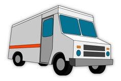 Bestelwagen royalty-vrije illustratie
