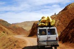 Bestelwagen, Marokko Royalty-vrije Stock Afbeeldingen