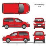 Bestelwagen van Combi van Citroën Berlingo 2016 de Professionele Stock Foto