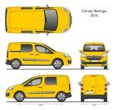 Bestelwagen van Combi van Citroën Berlingo 2016 de Professionele Royalty-vrije Stock Foto