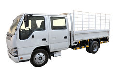 Bestelwagen van de Cabine van Isuzu de Dubbele Stock Afbeeldingen