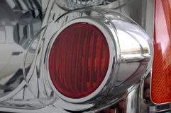 Bestelwagenkoplamp Royalty-vrije Stock Foto