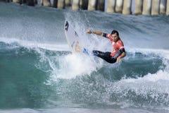 2015 bestelwagens de V.S. open van het surfen de concurrentie Royalty-vrije Stock Fotografie