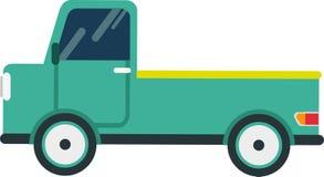 Bestelwagenvector op Witte Blackground vector illustratie