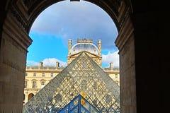 Bester Architektursonnenaufgang Paris Frankreich stockfotografie