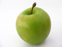 Bester grüner Apfel stellt passendes für das Verpacken dar Stockbilder