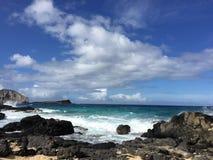 Bester hawaiischer Strand Stockfotografie