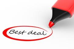 Bestes Abkommen lizenzfreie abbildung