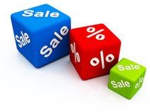 Bestes Abkommen auf Verkäufen Lizenzfreies Stockfoto