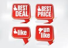 Bestes Abkommen-bester Preis und wie Umbauten Stockbilder