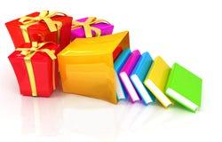 Bestes Geschenk - ein gutes Buch Stockbild