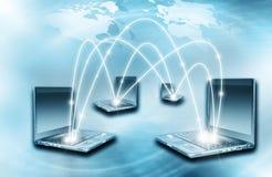 Bestes Internet-Konzept des globalen Geschäfts Kugel Stockbilder
