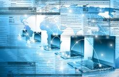 Bestes Internet-Konzept des globalen Geschäfts Kugel Lizenzfreie Stockfotos