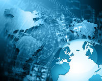 Bestes Internet-Konzept des globalen Geschäfts von der Konzeptserie Lizenzfreies Stockfoto