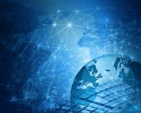 Bestes Internet-Konzept des globalen Geschäfts von der Konzeptserie Lizenzfreie Stockfotografie
