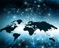 Bestes Internet-Konzept des globalen Geschäfts von der Konzeptserie stock abbildung