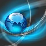 Bestes Konzept des globalen Geschäfts Stockbild